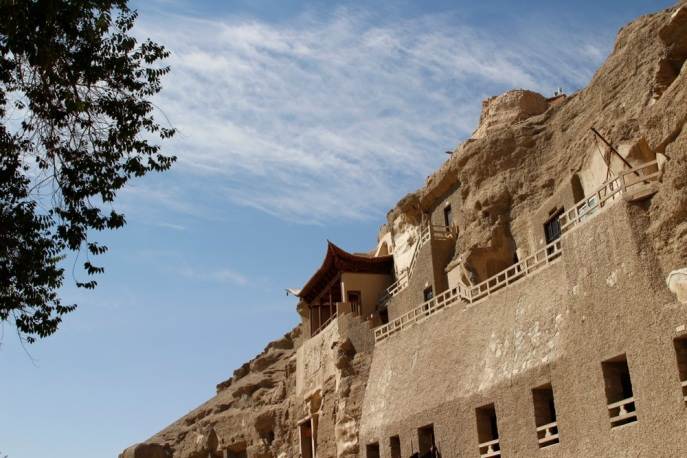 Mogao Caves in all it's glorious beauty