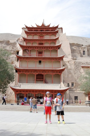 Mogao Caves - we are finally here!