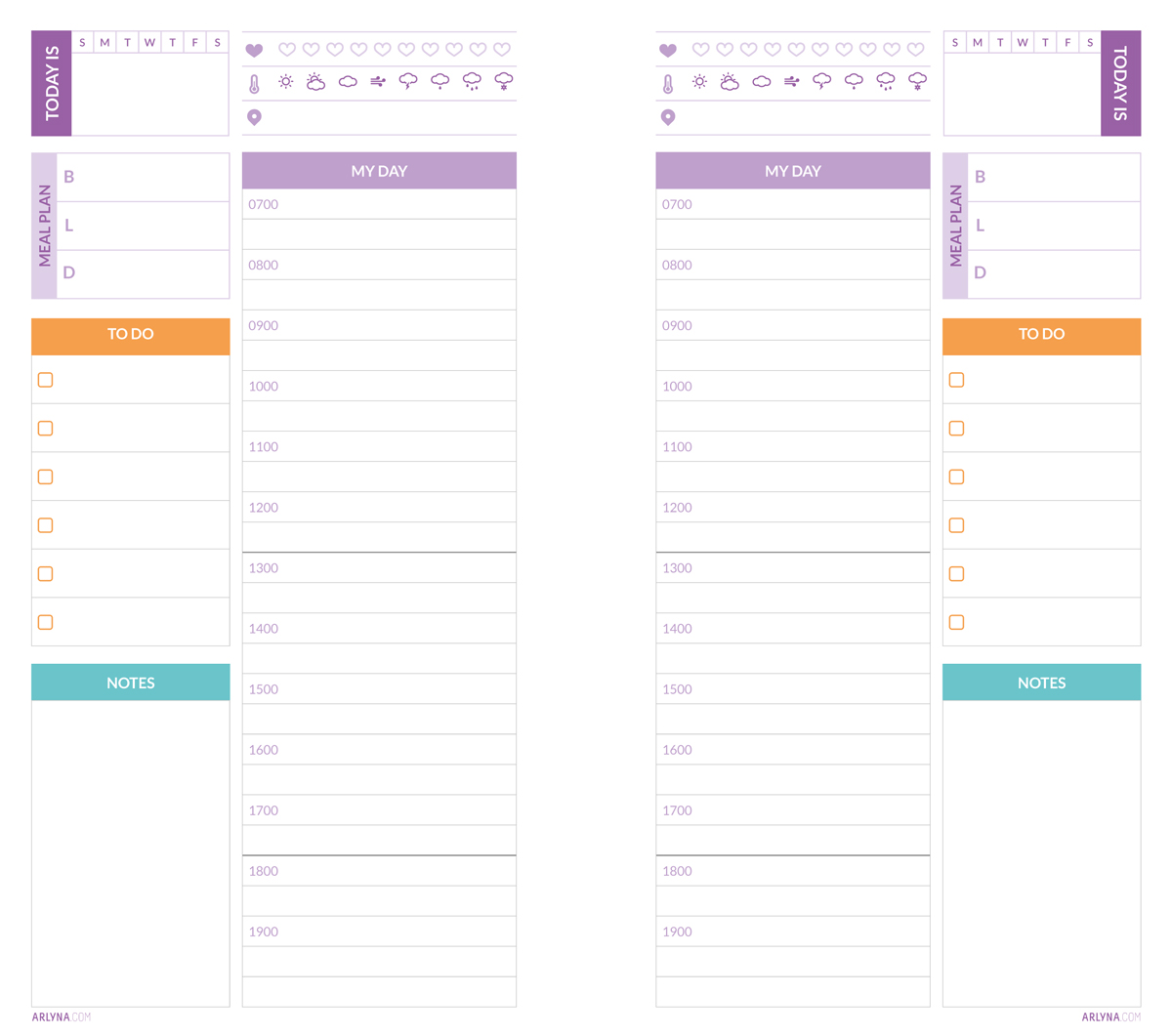 Printables | Daily Planner Pages Nov-Dec – a:bloggism