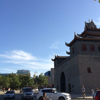 Yinchuan's famouse Drum Tower