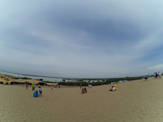 Sand Lake's sand dunes