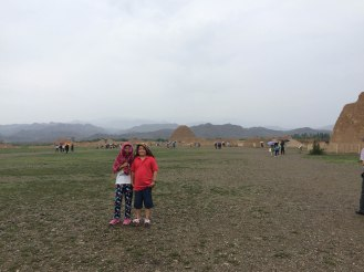 The iconic Western Xia Mausoleum Tomb#3