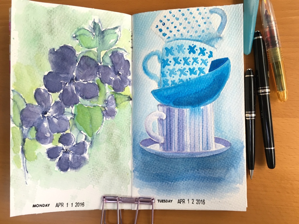 watercolour challenge