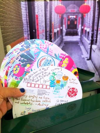 Sending happy mail!