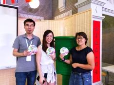 Great friends @shijifeng (IG) and @jessie_gsq (IG)